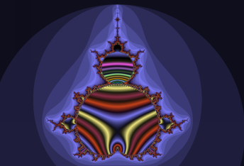 Contrasting colouring conventions in renderings of Mandelbrot set