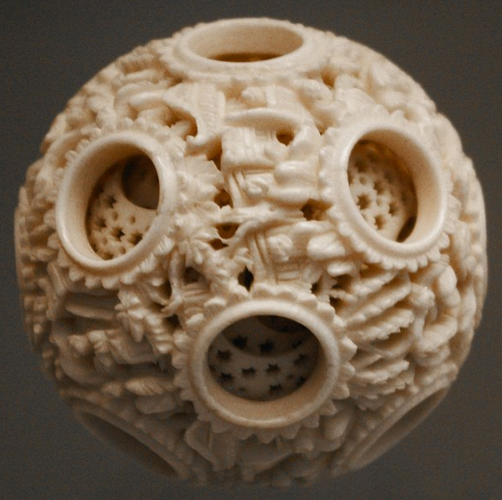 Neolithic carved stone ball