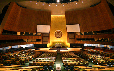 United Nations General Assembly in New York