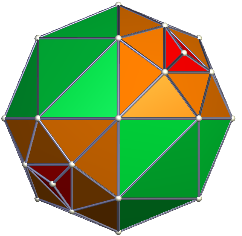 Mapping I Ching hexagrams onto tetrahedral geodesic sphere