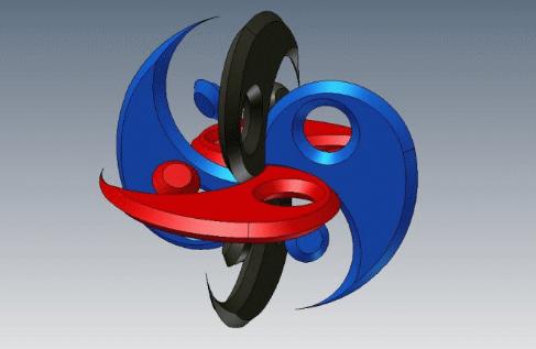 Exploring Representation of the Tao in 3D