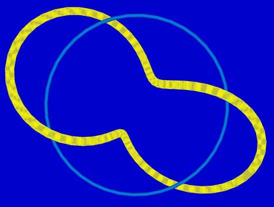 helical loop with 6 winds