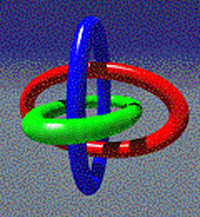 Concept Triple linked as a Borromean Ring
